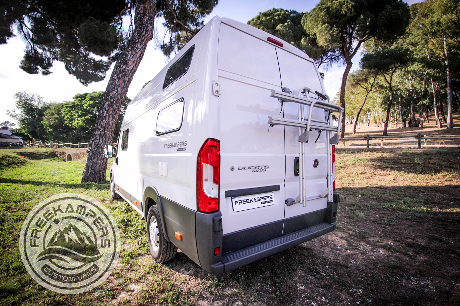 Instalación Portabicis furgoneta freekampers
